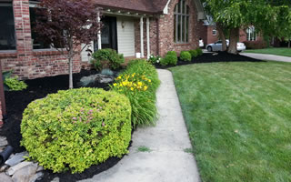 Softscape Landscaping Design Brownsburg Indiana.