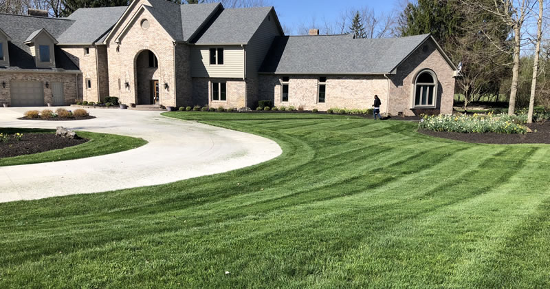 Lawn Mowing Services Brownsburg Indiana.